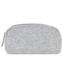 Juicy Couture - Swarovski Embellished Cashmere Cosmetic Bag - Lyst