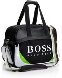 BOSS Green - Galic-X | Nylon Logo Weekender Bag - Lyst