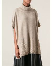 Ermanno Scervino Over Sized Sweater - Lyst