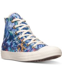 Converse Women'S Chuck Taylor Hi Top Casual Sneakers From Finish Line - Lyst