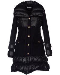 Versace Black Down Jacket - Lyst
