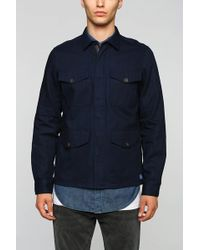 Vanishing Elephant Military Shirt Jacket - Lyst