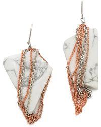 Gemma Redux - Stone Earrings - Lyst