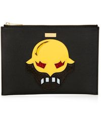 Stella McCartney Superstellaheroes Faux-leather Clutch - Lyst