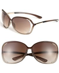 Tom Ford - 'raquel' 63mm OverTransparent Bronze - Lyst
