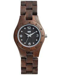 WeWood | 'moon Deneb' Wood Bracelet Watch | Lyst