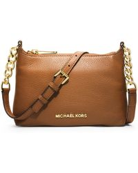 MICHAEL Michael Kors Bedford Leather Crossbody Bag - Lyst