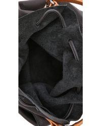 Linea Pelle - Hunter Bucket Bag - Black - Lyst