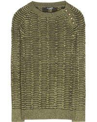 Balmain Knitted Sweater - Lyst