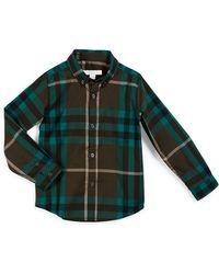Burberry Brit - Fred Mini Long-sleeve Check Shirt - Lyst
