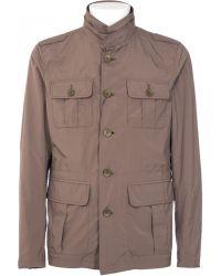 Herno Waterproof Military Green Jacket - Lyst