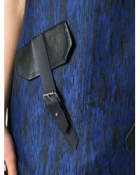 Jamie Wei Huang - Leather Details Jacquard Dress - Lyst