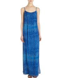 Twelfth Street Cynthia Vincent - Lizard Print Maxi Dress - Lyst