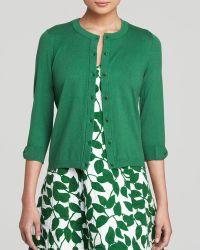 Kate Spade Somerset Cardigan green - Lyst