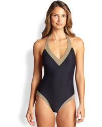 Heidi Klein One-Piece Bimini Padded-Cup Swimsuit - Lyst