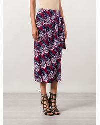 Thakoon - Floral Loose Fit Shorts - Lyst