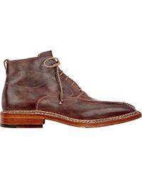 Bettanin & Venturi - Split Apron-toe Boots - Lyst