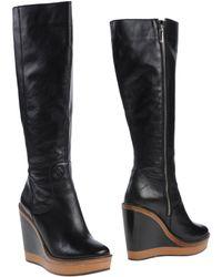 Armani Jeans Boots - Lyst