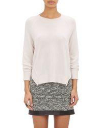 J Brand Exposed-seam Cashmere Sweater - Lyst