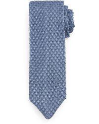 Tom Ford Diamond-Pattern Knit Tie - Lyst