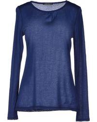 Laura Urbinati Blue T-shirt - Lyst