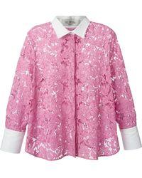 Valentino Lace Shirt - Lyst