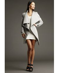 Chris Gramer - Shelley Cashmere Trench Coat In Dove - Lyst