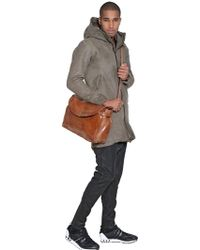 Officine Creative - Brushed Leather Briefcase - Lyst