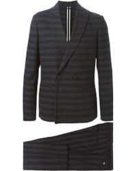 Paolo Pecora - Striped Two-piece Suit - Lyst