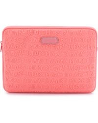 "Marc By Marc Jacobs Adults Suck Neoprene 13"" Computer Case - Fluoro Coral - Lyst"