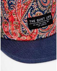 The Quiet Life - X Liberty Paisley 5 Panel Cap - Lyst