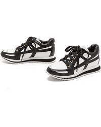 Pierre Balmain Jogging Sneakers  Whiteblack - Lyst