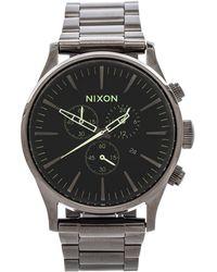 Nixon The Sentry Chrono - Lyst