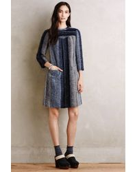 Anna Sui | Brushed Stripes Tunic Dress | Lyst