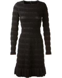 Azzedine Alaïa Zig Zag Skirt Dress - Lyst