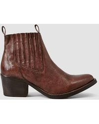 AllSaints Bonny Valley Boot brown - Lyst