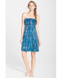Hard Tail Strapless Dress - Lyst