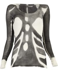 Aurelie Demel - Bugano Tie-dye Printed Jersey T-shirt - Lyst
