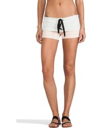 Tylie French Terry Shorts - Lyst
