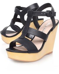 Miss Kg Paloma High Heel Wedge Sandals - Lyst