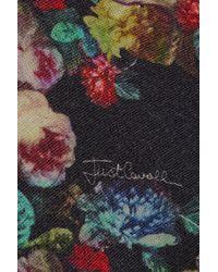 Just Cavalli Printed Wool Cardigan - Lyst