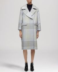 Whistles Coat - Hoshi Check - Lyst
