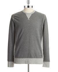 DKNY Round Neck Sweatshirt - Lyst