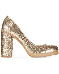 BC Footwear - Turf Glitter Platform Court Shoes - Lyst