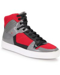 Boss by Hugo Boss Fulseo High-Top Sneakers - Lyst