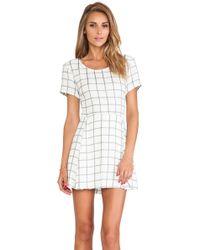 Myne Blaze Mini Dress - Lyst