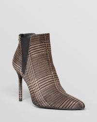 Stuart Weitzman Pointed Toe Booties - Apogee High Heel - Lyst