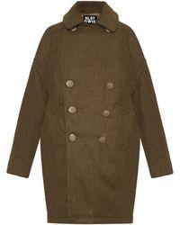 NLST - Military Melton-wool Coat - Lyst