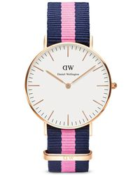 Daniel Wellington Classic Winchester Watch, 36Mm pink - Lyst