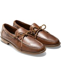 Cole Haan & Todd Snyder Willet Camp Moc In British Tan - Lyst